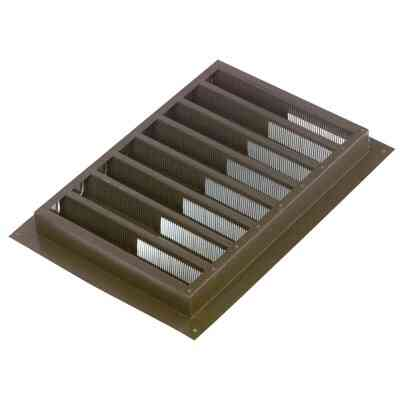 "NorWesco 12"" x 12"" Square Brown Gable Attic Vent"