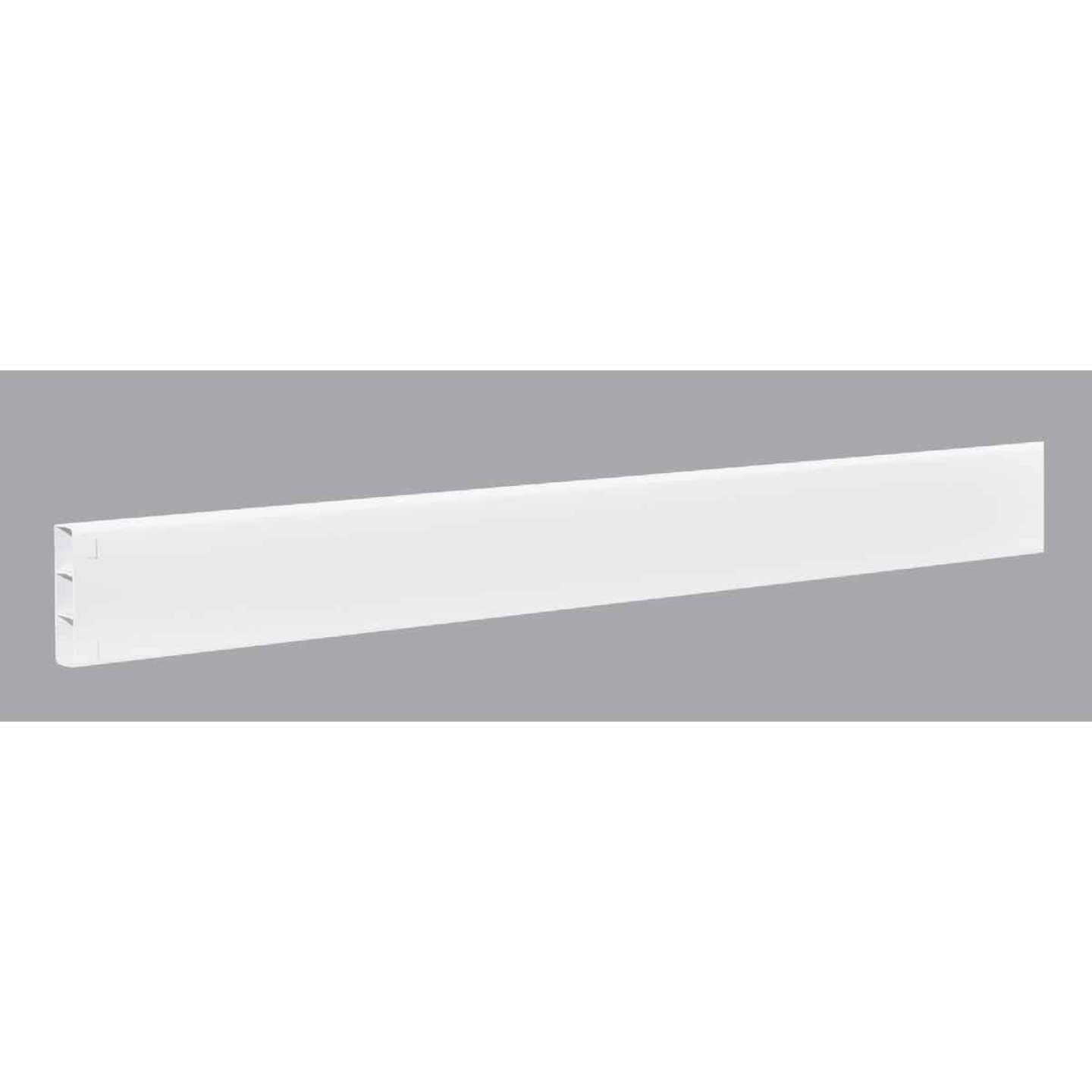 Outdoor Essentials 2 In. x 6 In. x 96 In. White Vinyl Fence Rail Image 1