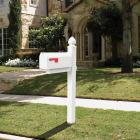 Gibraltar Whitley Plastic Mailbox Post Image 2