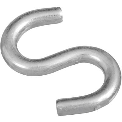 National 2 In. Zinc Heavy Open S Hook