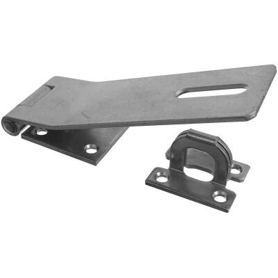 National 7 In. Zinc Non-Swivel Safety Hasp