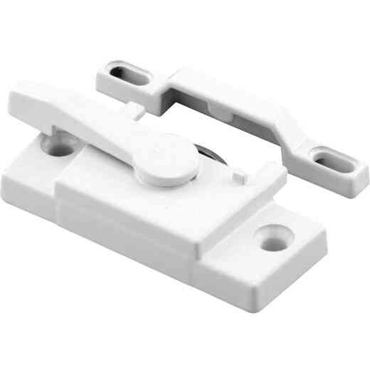 Prime-Line Vinyl Window Sash Lock With Keeper