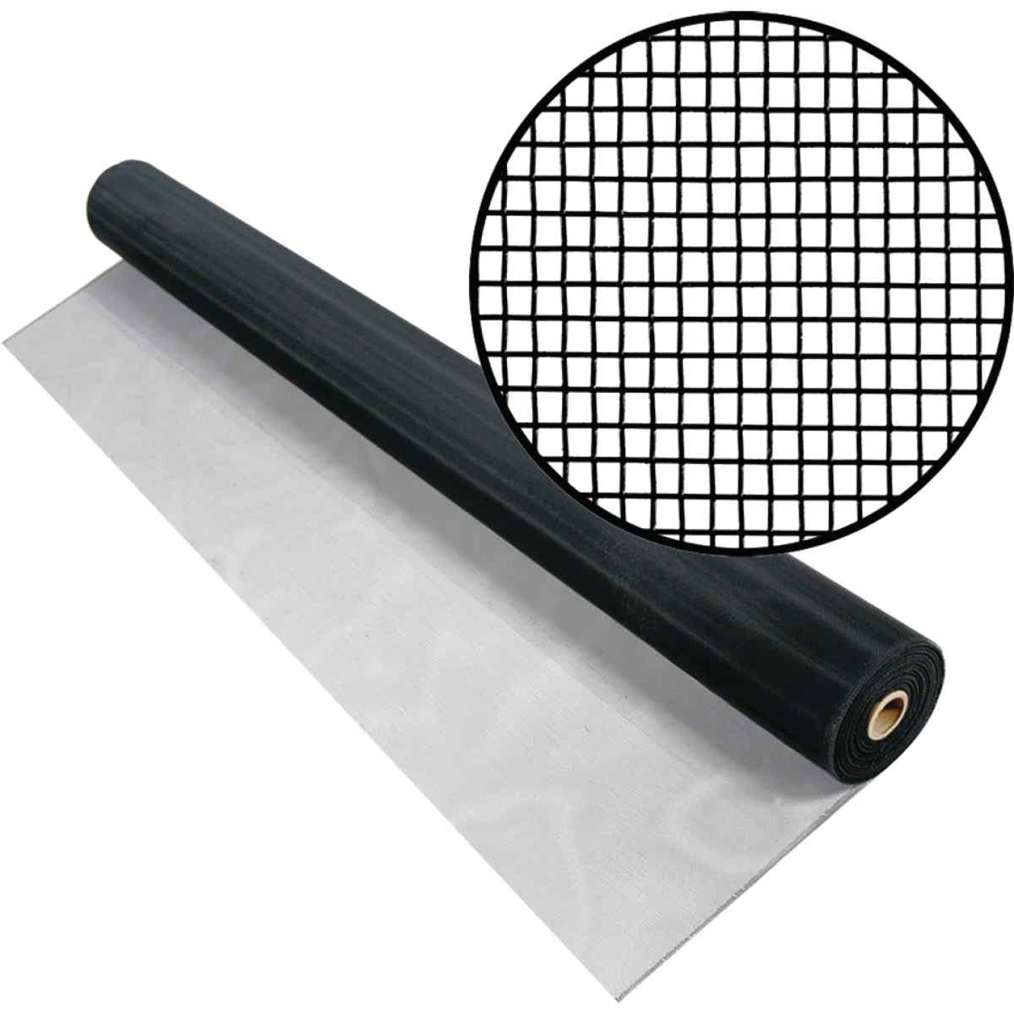 Phifer 24 In. x 100 Ft. Charcoal Aluminum Screen Image 1
