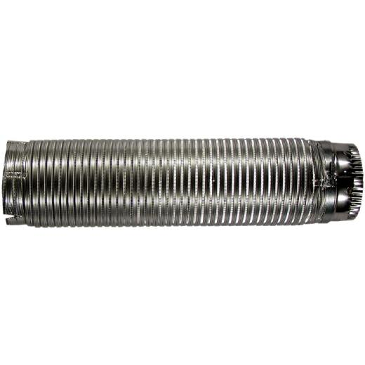 Builders Best E-Z-Fasten 4 In. x 5 Ft. Aluminum Semi-Rigid Dryer Duct