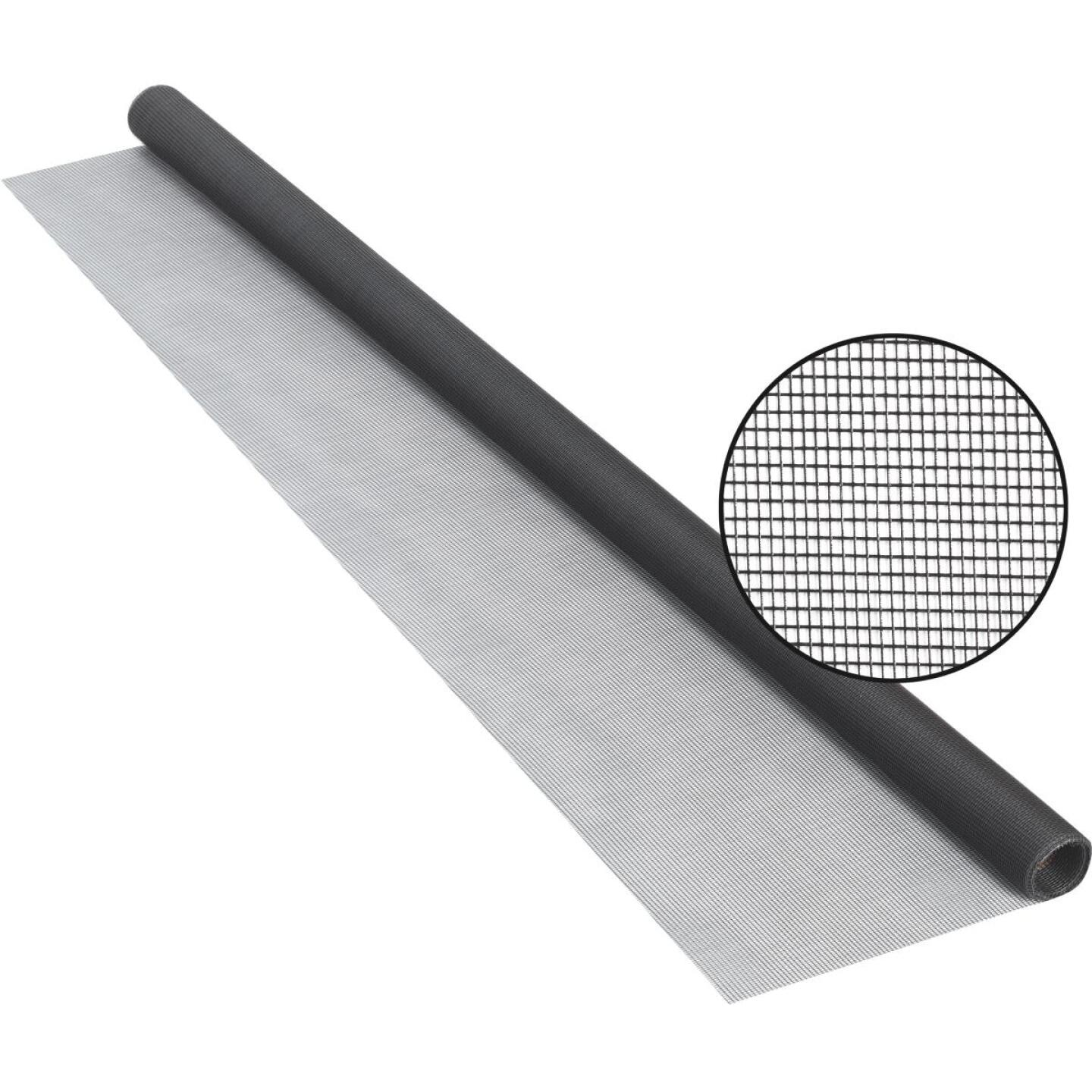 Phifer 24 In. x 84 In. Charcoal Fiberglass Screen Cloth Ready Rolls Image 1