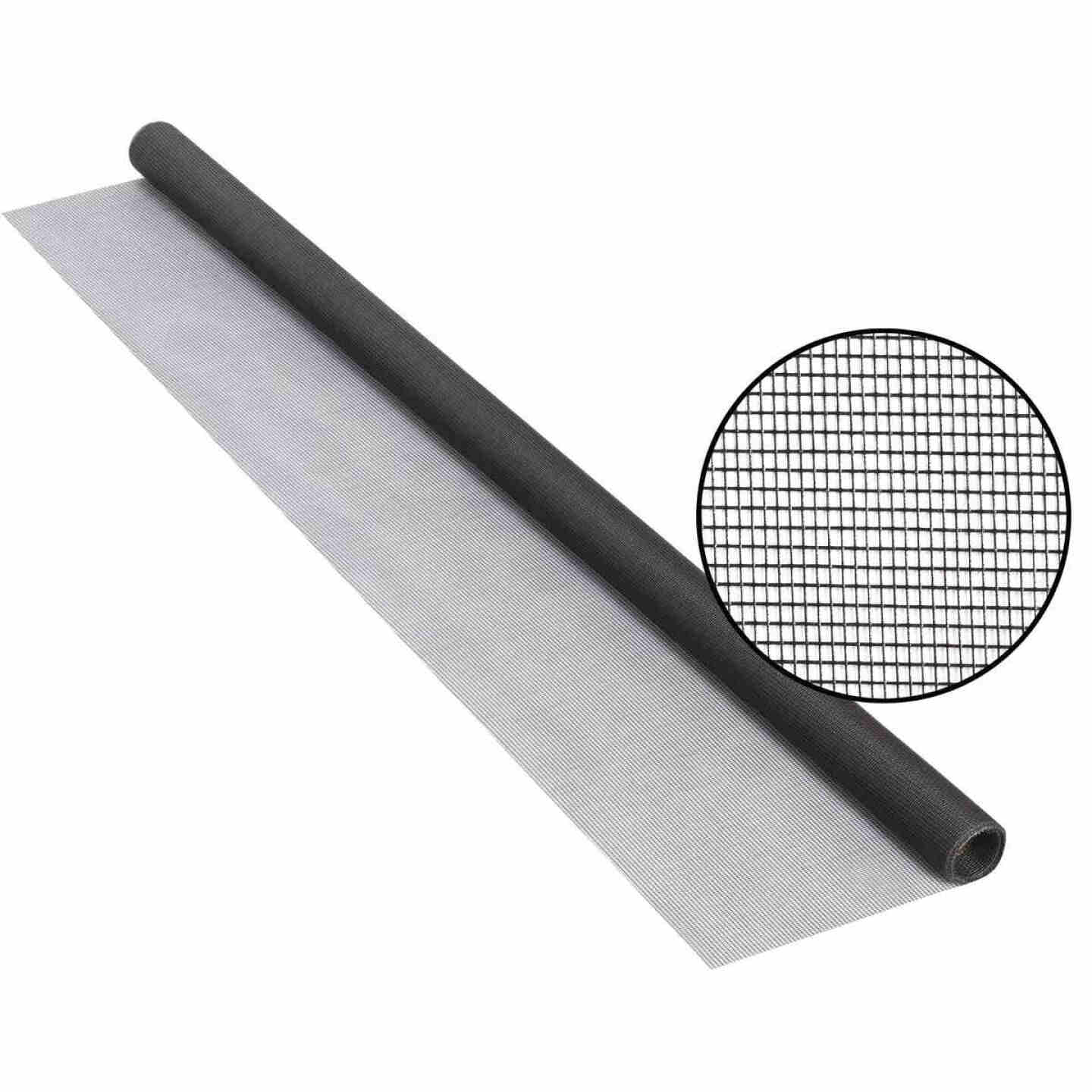 Phifer 30 In. x 84 In. Charcoal Fiberglass Screen Cloth Ready Rolls Image 1