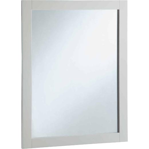 Design House Shorewood White 24 In. W x 30 In. H Vanity Mirror