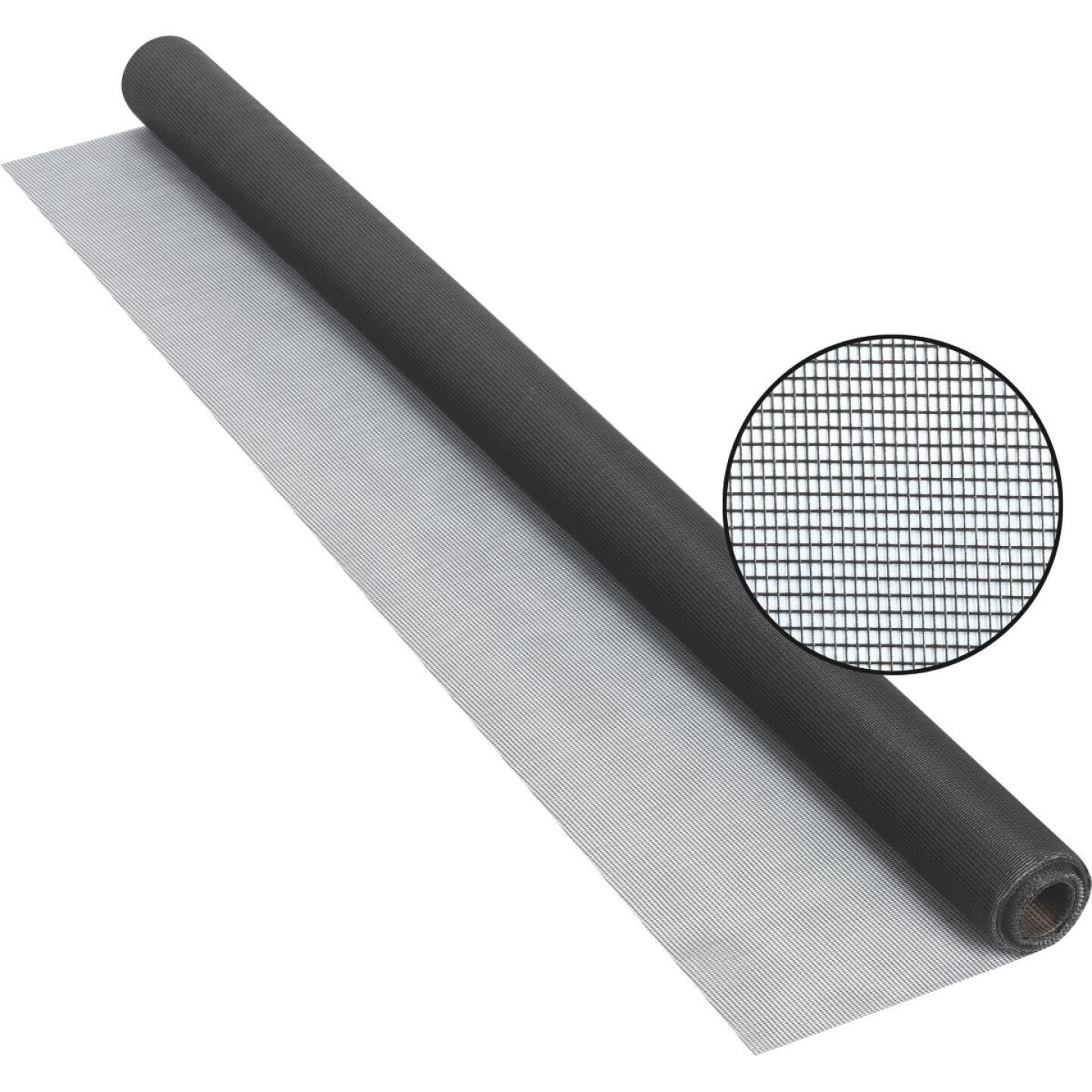 Phifer 36 In. x 25 Ft. Charcoal Fiberglass Screen Cloth Image 1