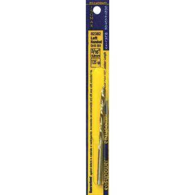 Eazypower 3/16 In. High Speed Steel 135 deg Left Hand Drill Bit