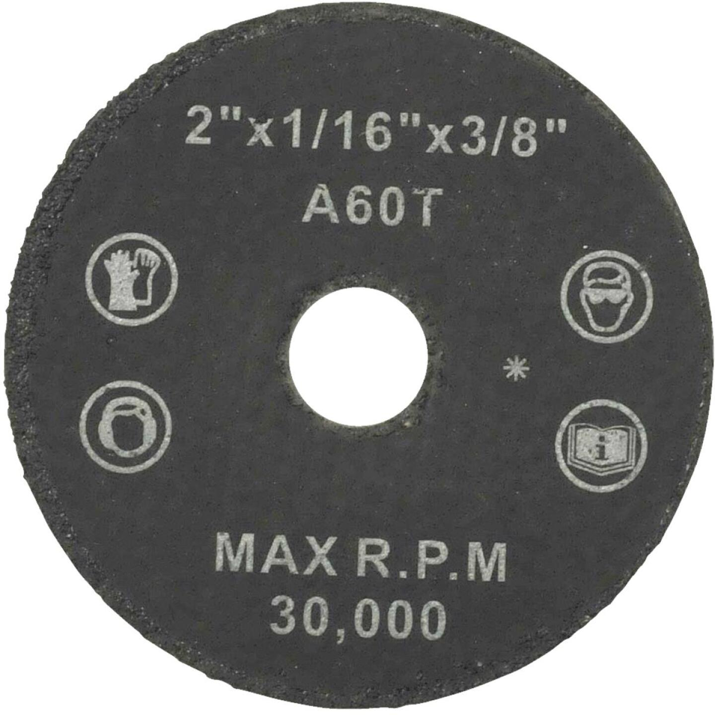 Weiler Vortec Type 1 2 In. x 1/16 In. x 3/8 In. Metal/Plastic Cut-Off Wheel Image 1