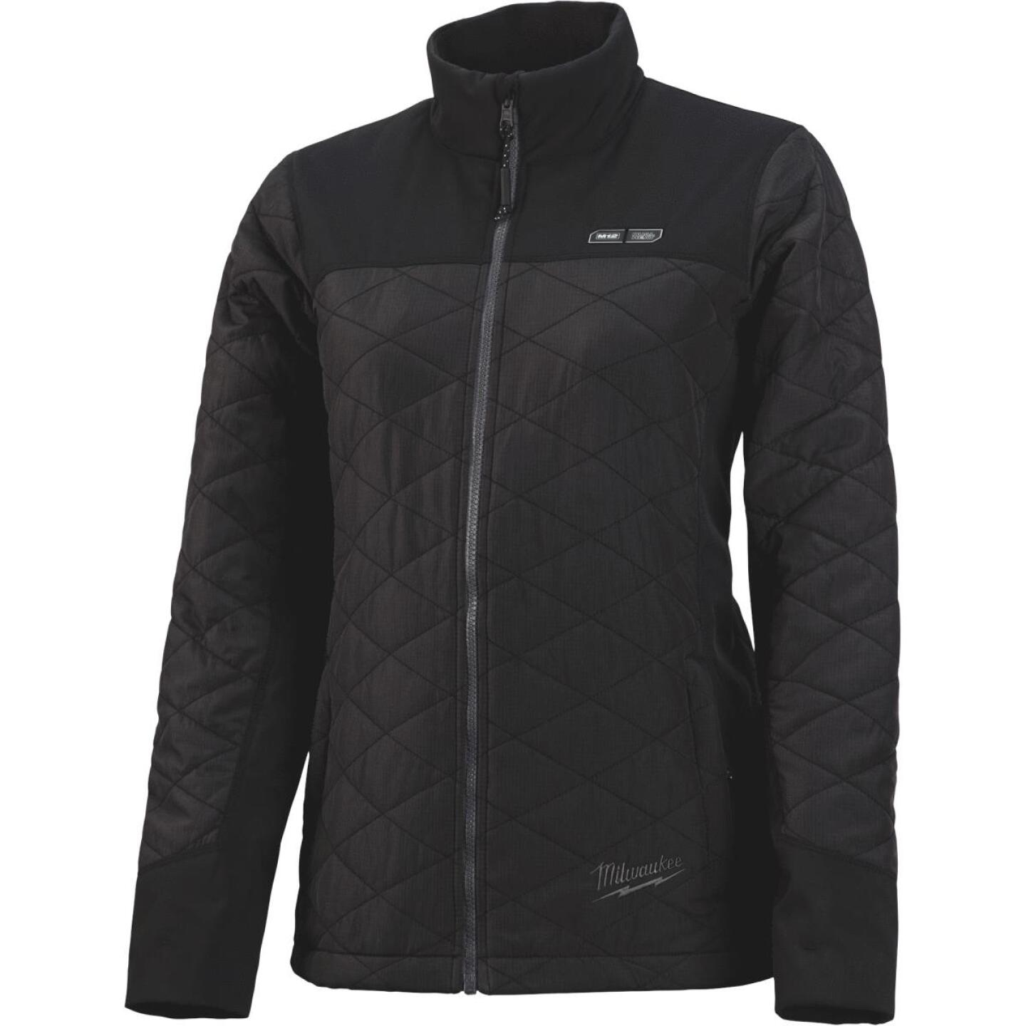 Milwaukee M12 Large Black Cordless Ladies Heated Jacket Kit Image 2
