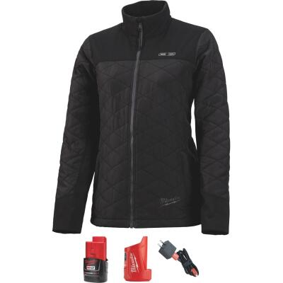 Milwaukee M12 XL Black Cordless Ladies Heated Jacket Kit