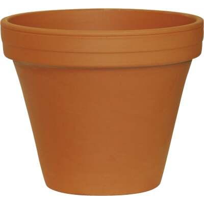 Ceramo 5-1/4 In. H. x 6 In. Dia. Terracotta Clay Standard Flower Pot