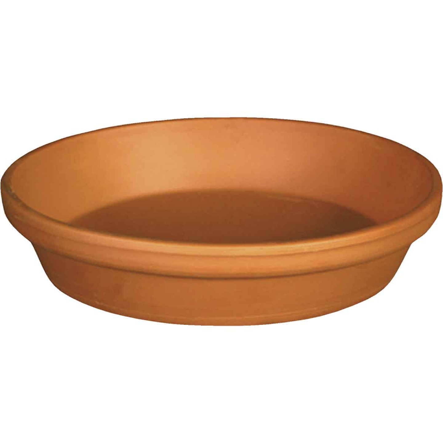 Ceramo 10 In. Terracotta Clay Standard Flower Pot Saucer Image 1