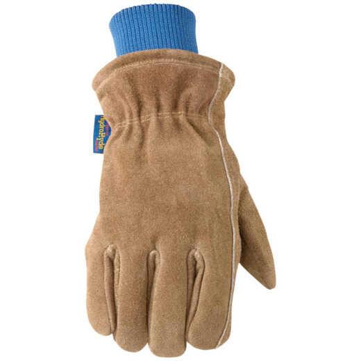 Wells Lamont HydraHyde Men's XL Suede Cowhide Insulated Work Glove