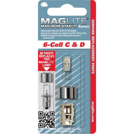 Maglite Xenon 7.2V Replacement Flashlight Bulb